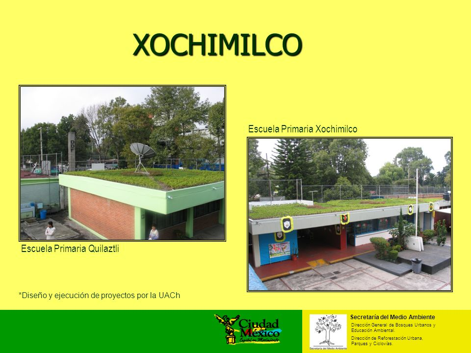 XOCHIMILCO Escuela Primaria Xochimilco Escuela Primaria Quilaztli
