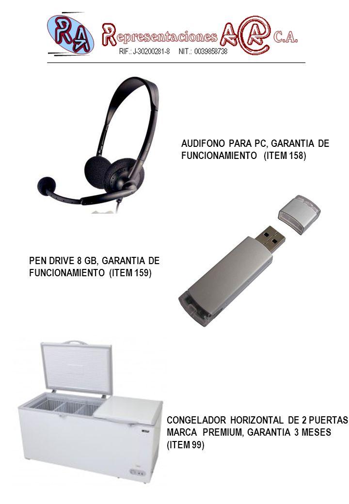 AUDIFONO PARA PC, GARANTIA DE
