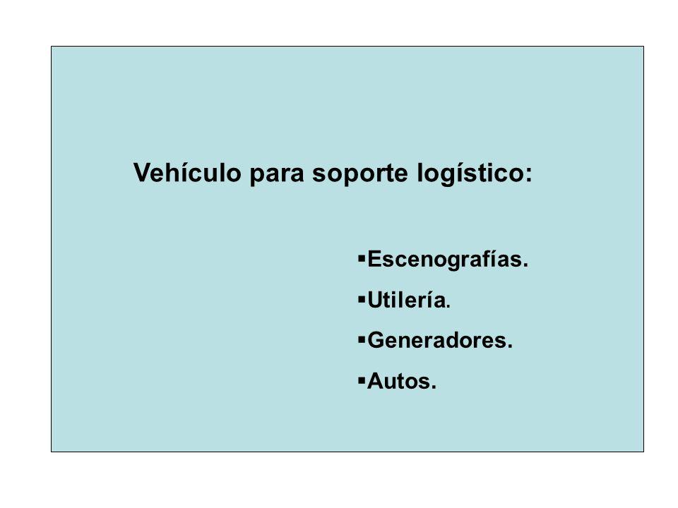 Vehículo para soporte logístico: