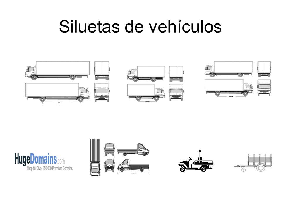 Siluetas de vehículos