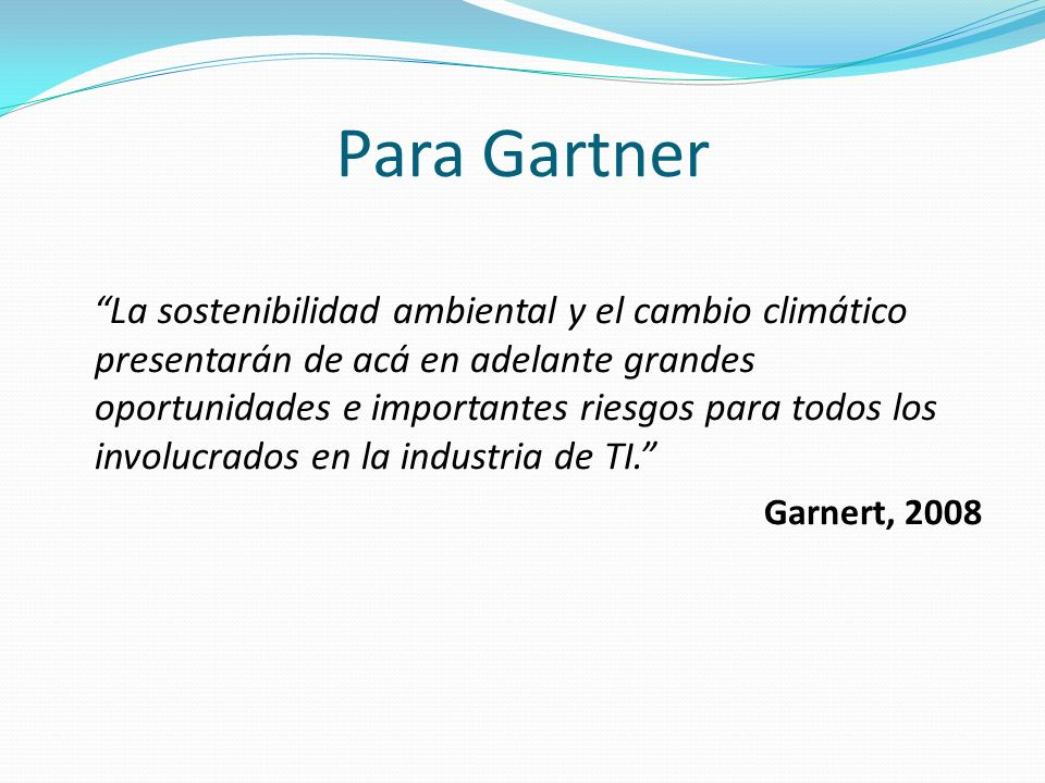 Para Gartner