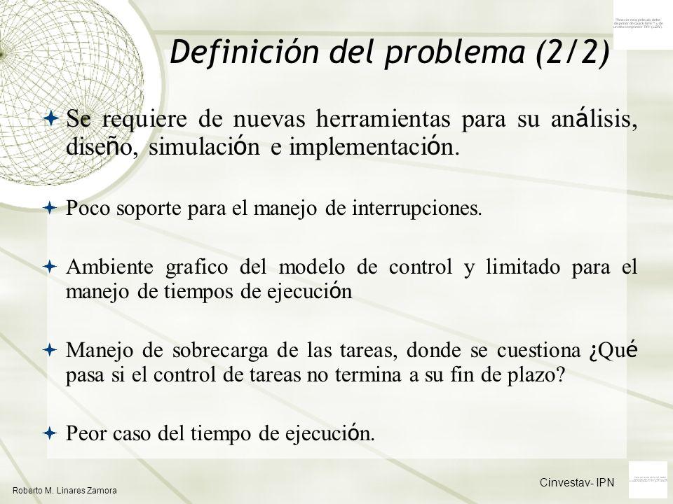 Definición del problema (2/2)