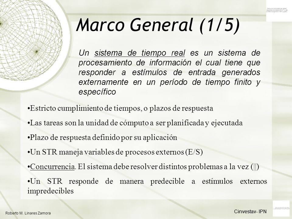 Marco General (1/5)