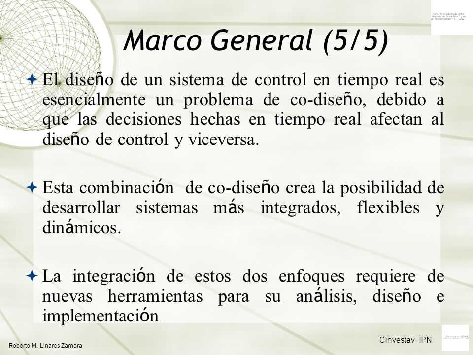 Marco General (5/5)