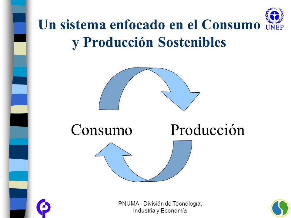 Un sistema enfocado en el Consumo y Producción Sostenibles