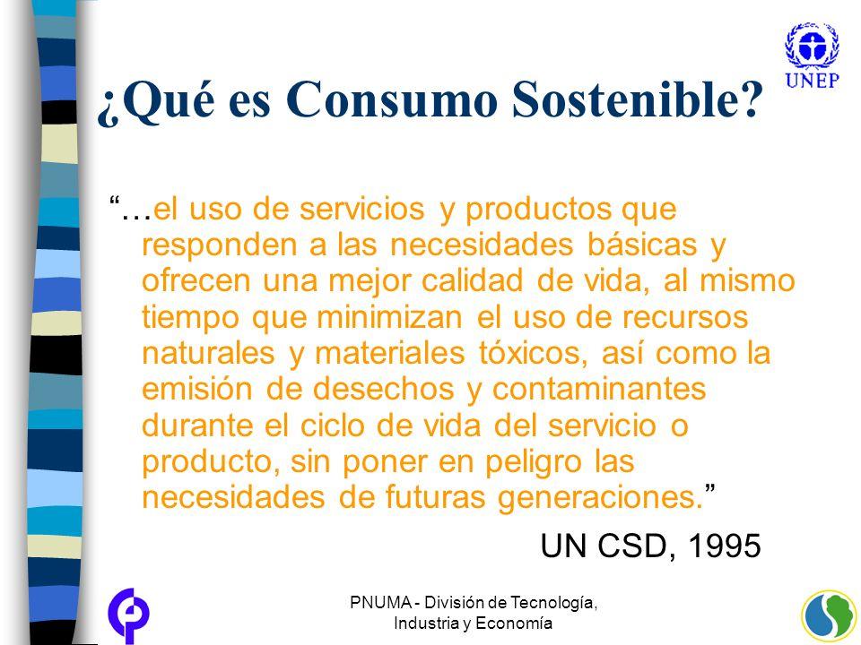¿Qué es Consumo Sostenible