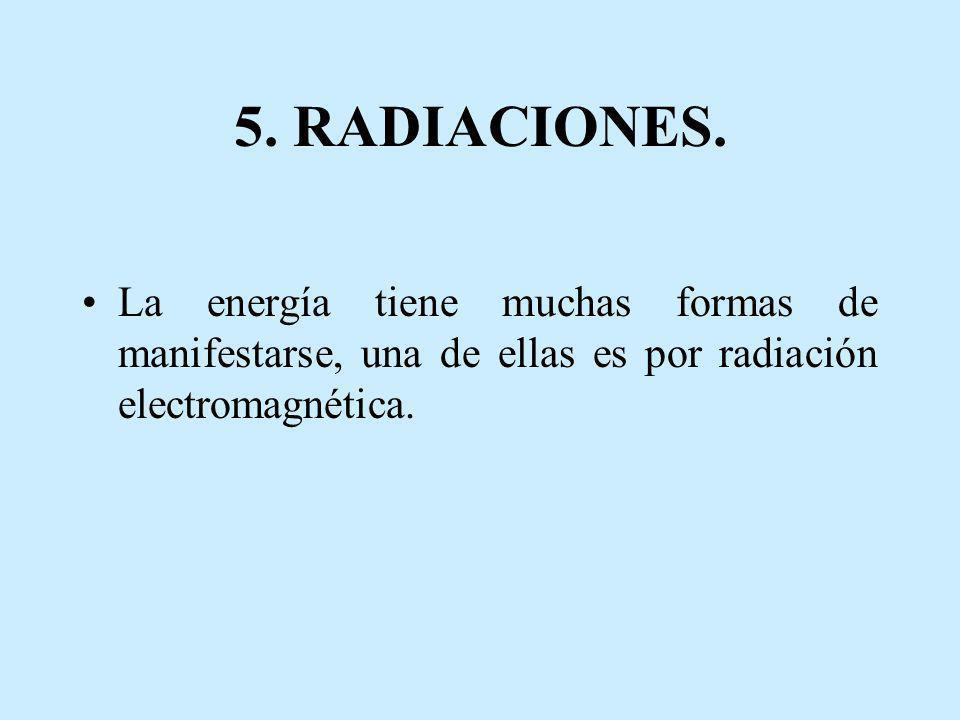 5. RADIACIONES.