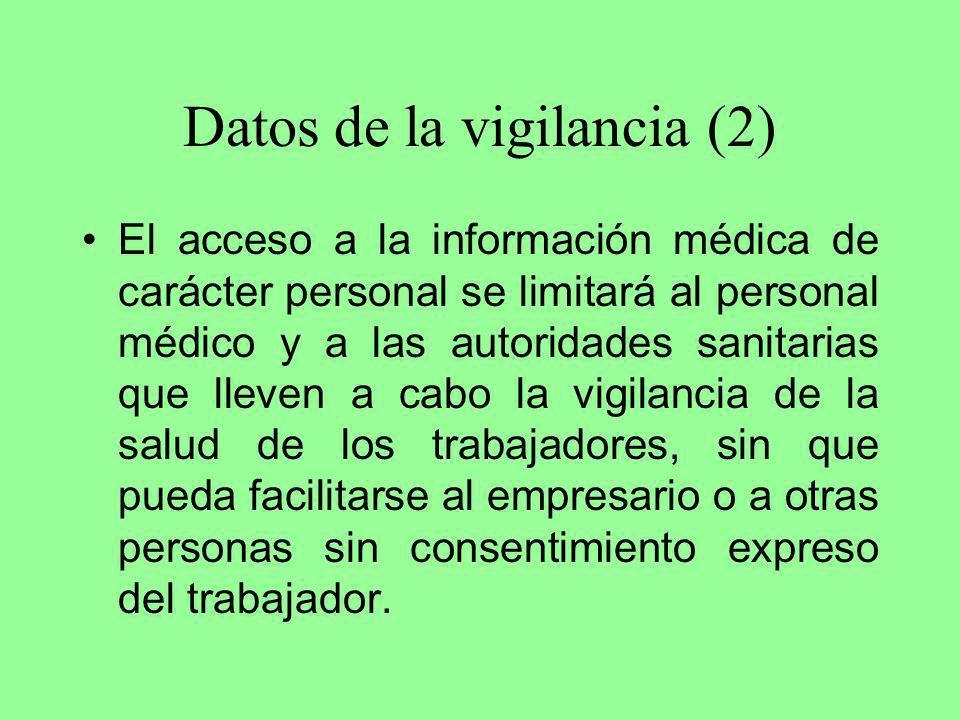 Datos de la vigilancia (2)