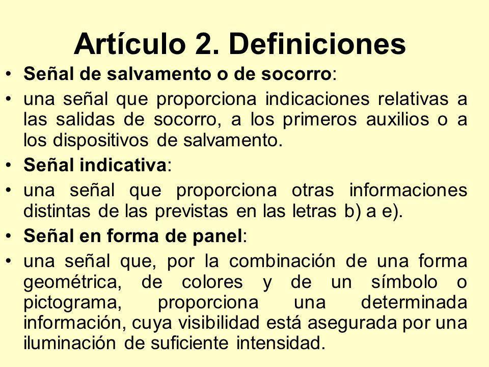 Artículo 2. Definiciones
