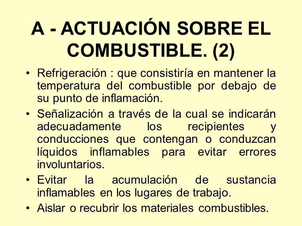 A - ACTUACIÓN SOBRE EL COMBUSTIBLE. (2)