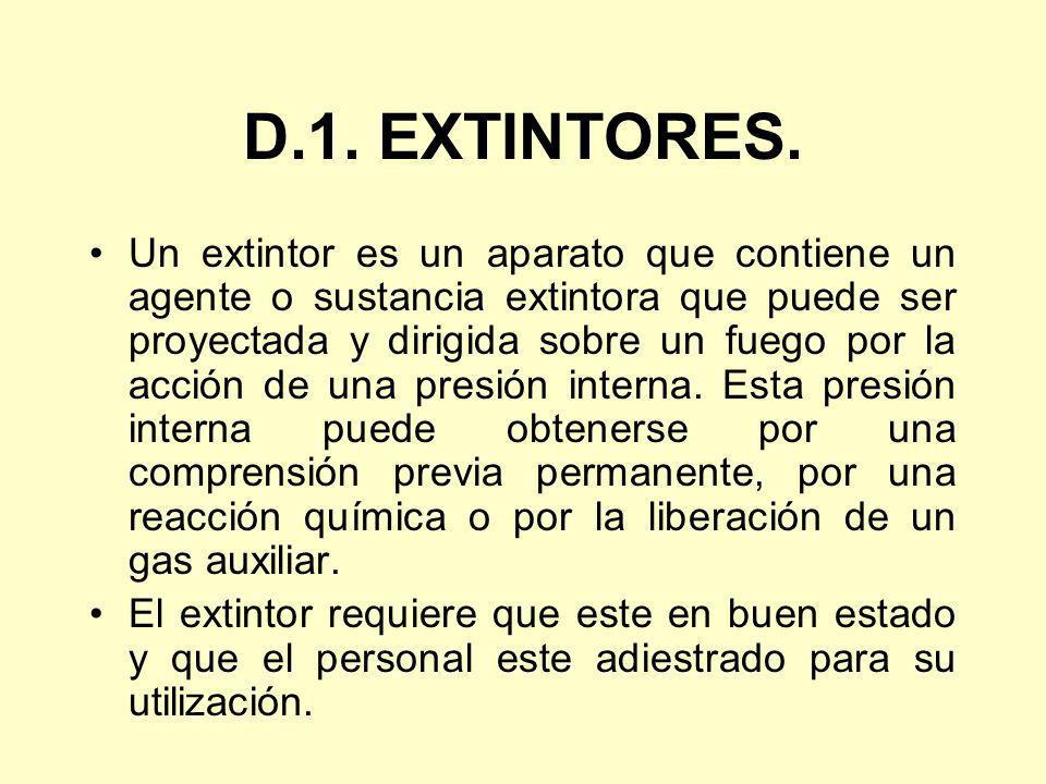 D.1. EXTINTORES.