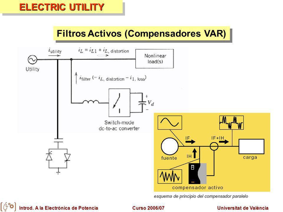 Filtros Activos (Compensadores VAR)