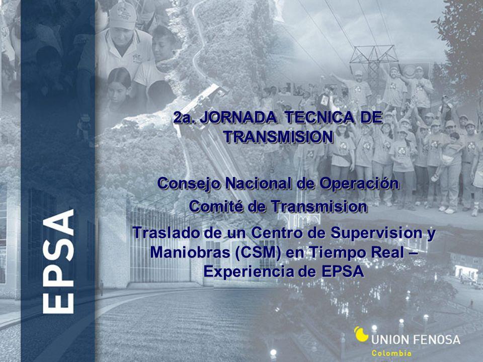 2a. JORNADA TECNICA DE TRANSMISION Consejo Nacional de Operación