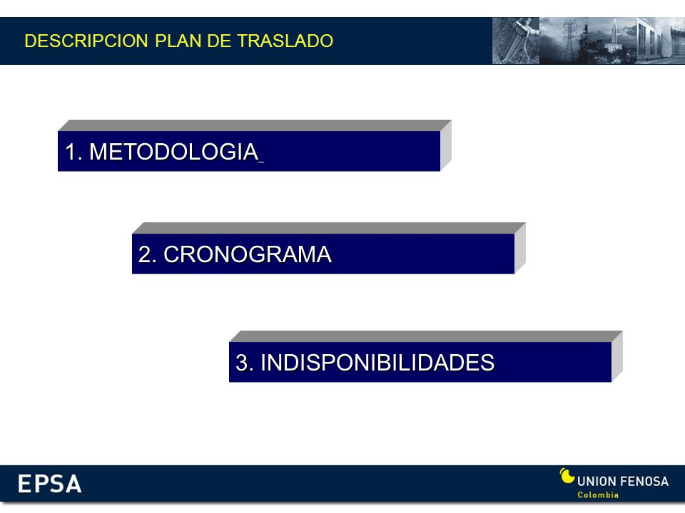 DESCRIPCION PLAN DE TRASLADO