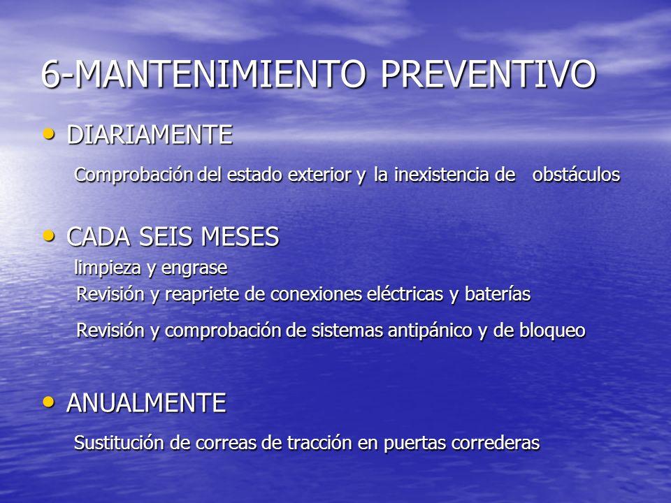 6-MANTENIMIENTO PREVENTIVO