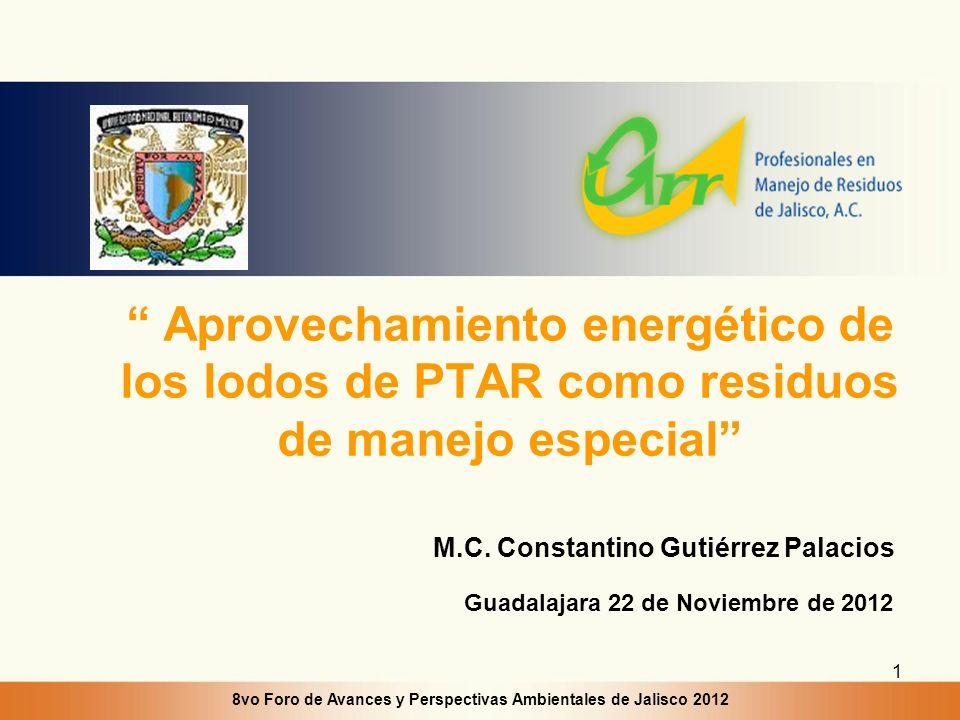 8vo Foro de Avances y Perspectivas Ambientales de Jalisco 2012