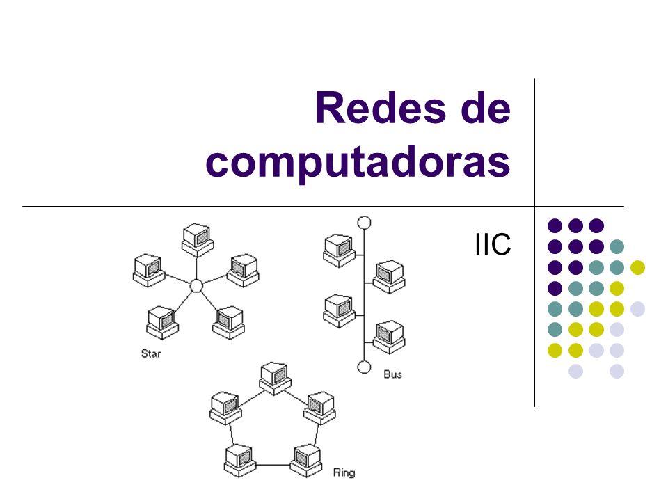Redes de computadoras IIC