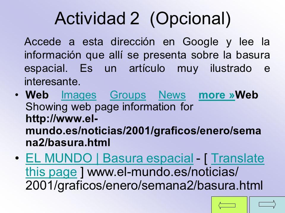 Actividad 2 (Opcional)