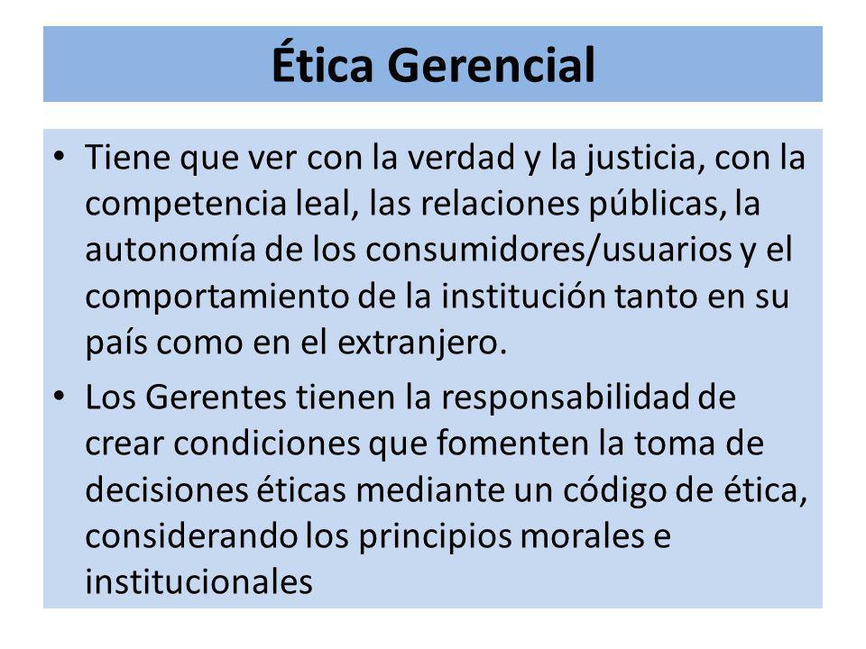 Ética Gerencial