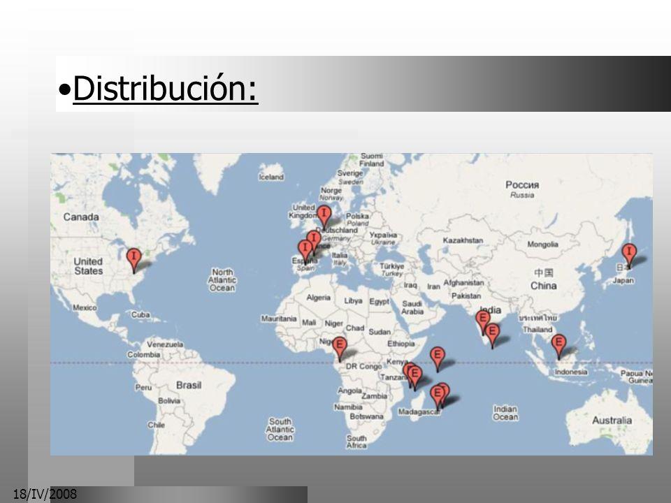 Distribución: 18/IV/2008