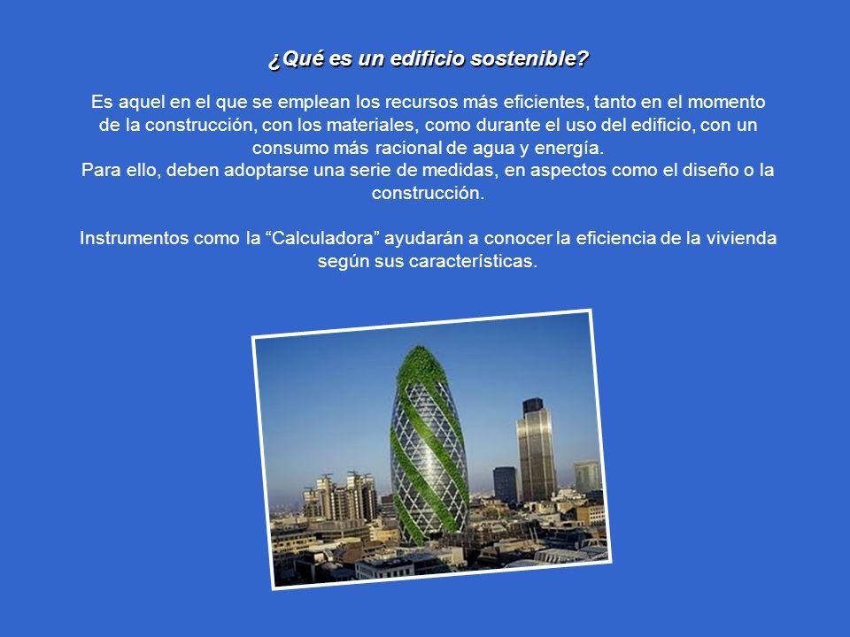 ¿Qué es un edificio sostenible