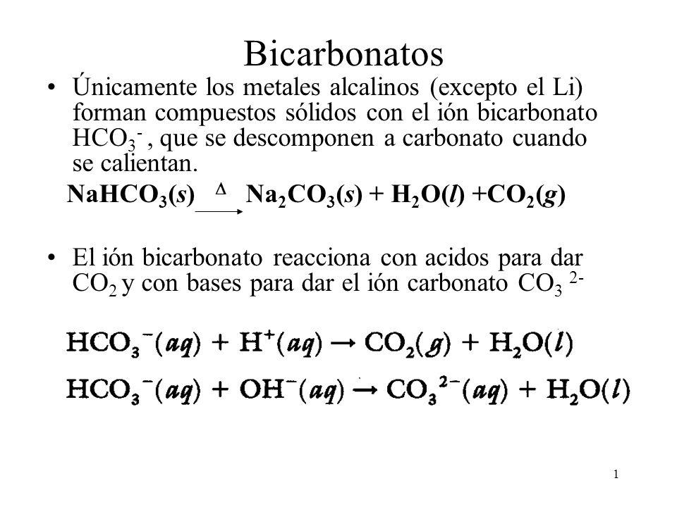 Bicarbonatos