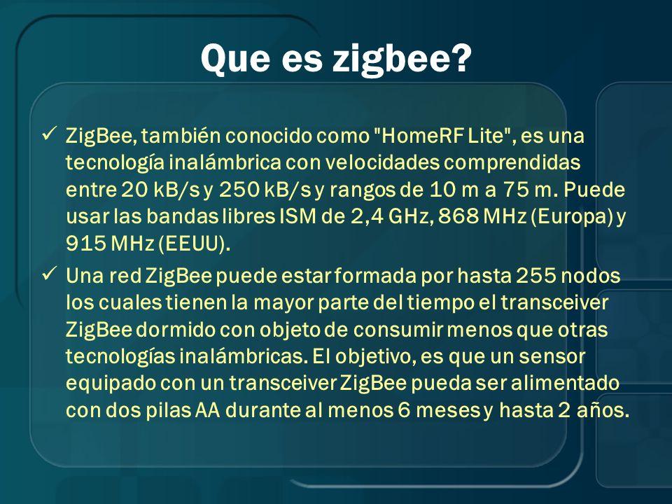 Que es zigbee