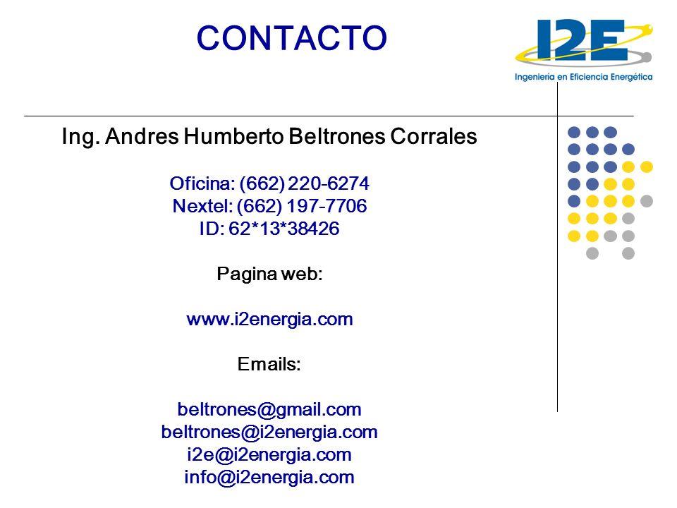 Ing. Andres Humberto Beltrones Corrales