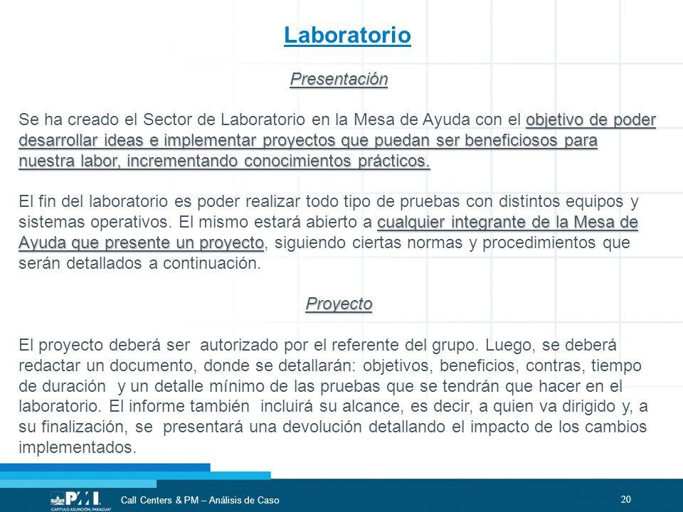 Laboratorio Presentación