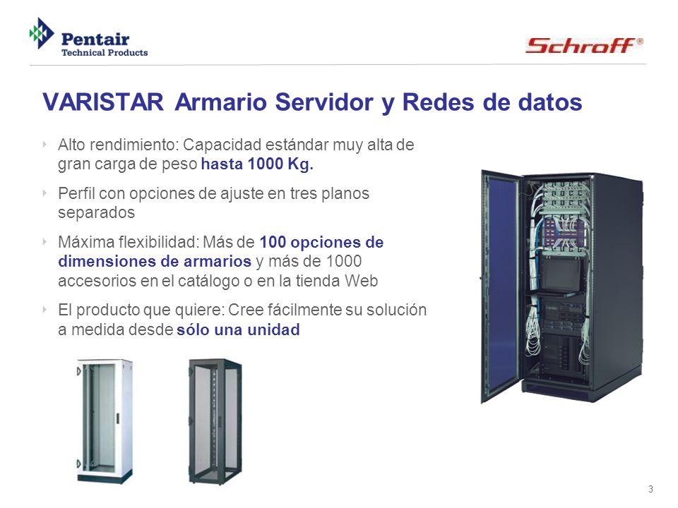 VARISTAR Armario Servidor y Redes de datos