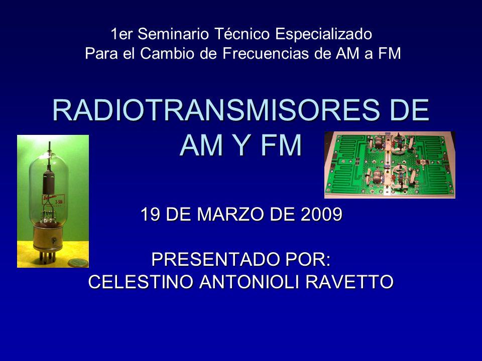 RADIOTRANSMISORES DE AM Y FM