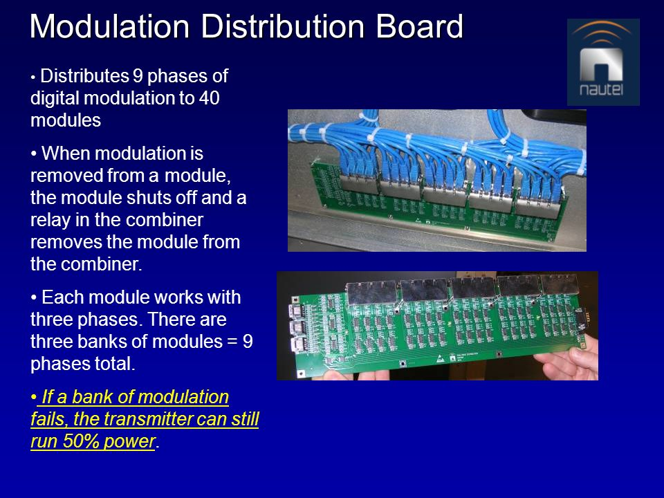 Modulation Distribution Board