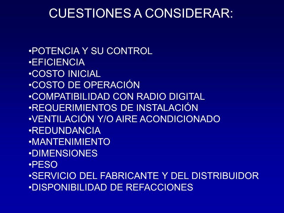CUESTIONES A CONSIDERAR: