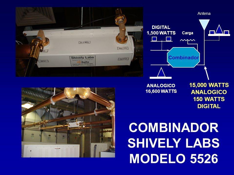 COMBINADOR SHIVELY LABS MODELO 5526