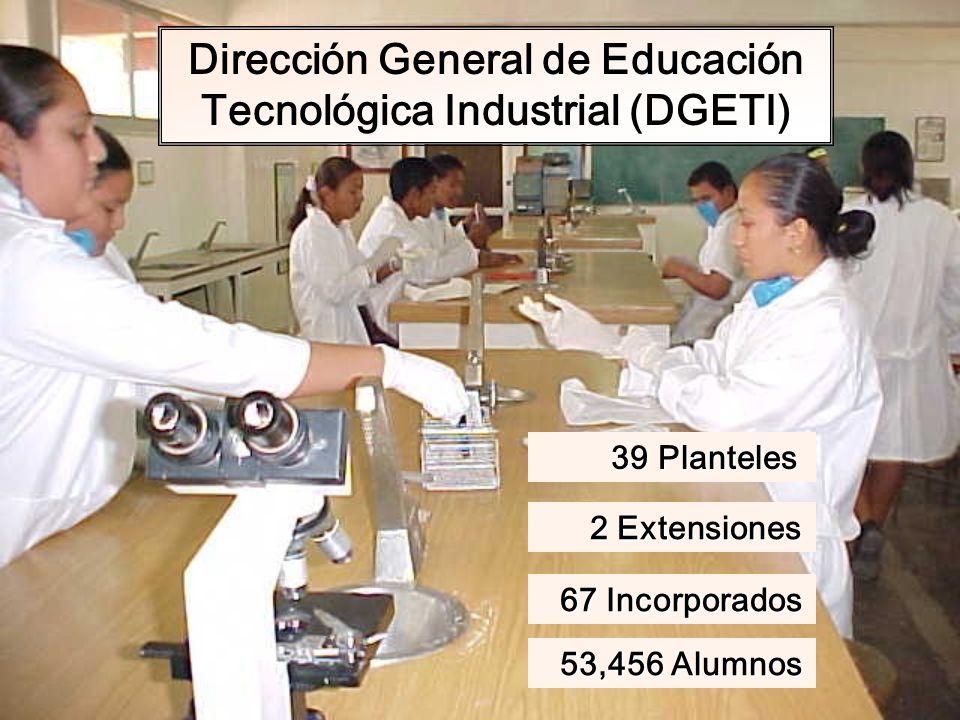 Dirección General de Educación Tecnológica Industrial (DGETI)