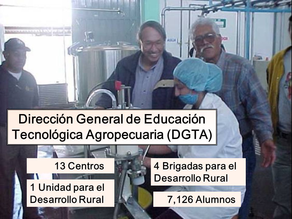 Dirección General de Educación Tecnológica Agropecuaria (DGTA)