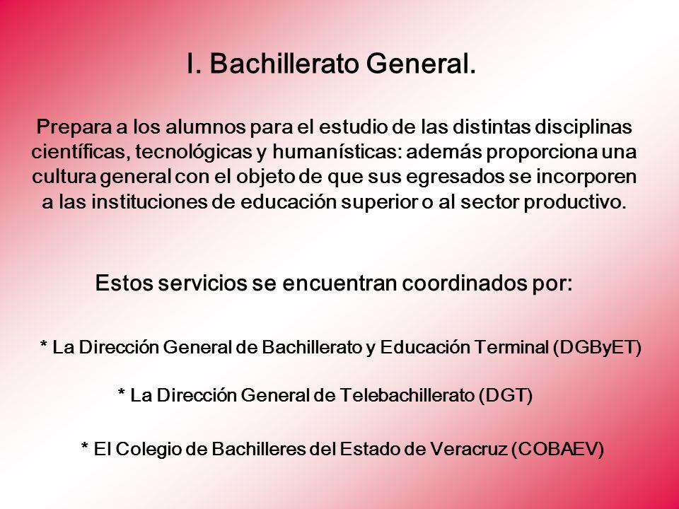 * El Colegio de Bachilleres del Estado de Veracruz (COBAEV)