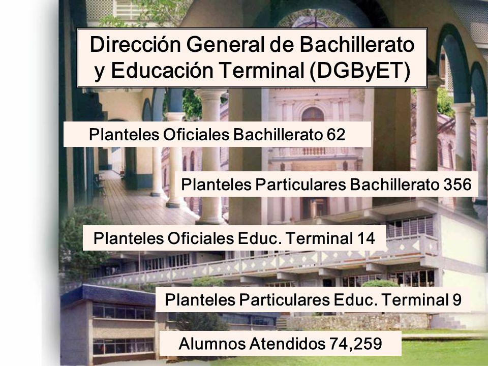 Dirección General de Bachillerato y Educación Terminal (DGByET)