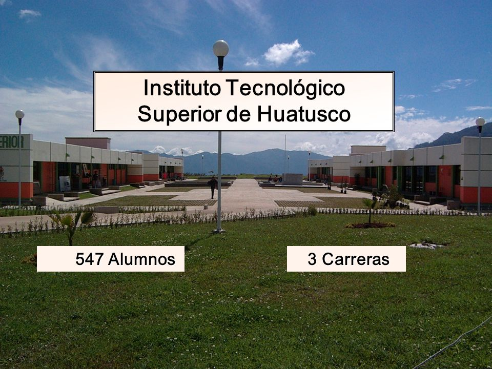 Instituto Tecnológico Superior de Huatusco
