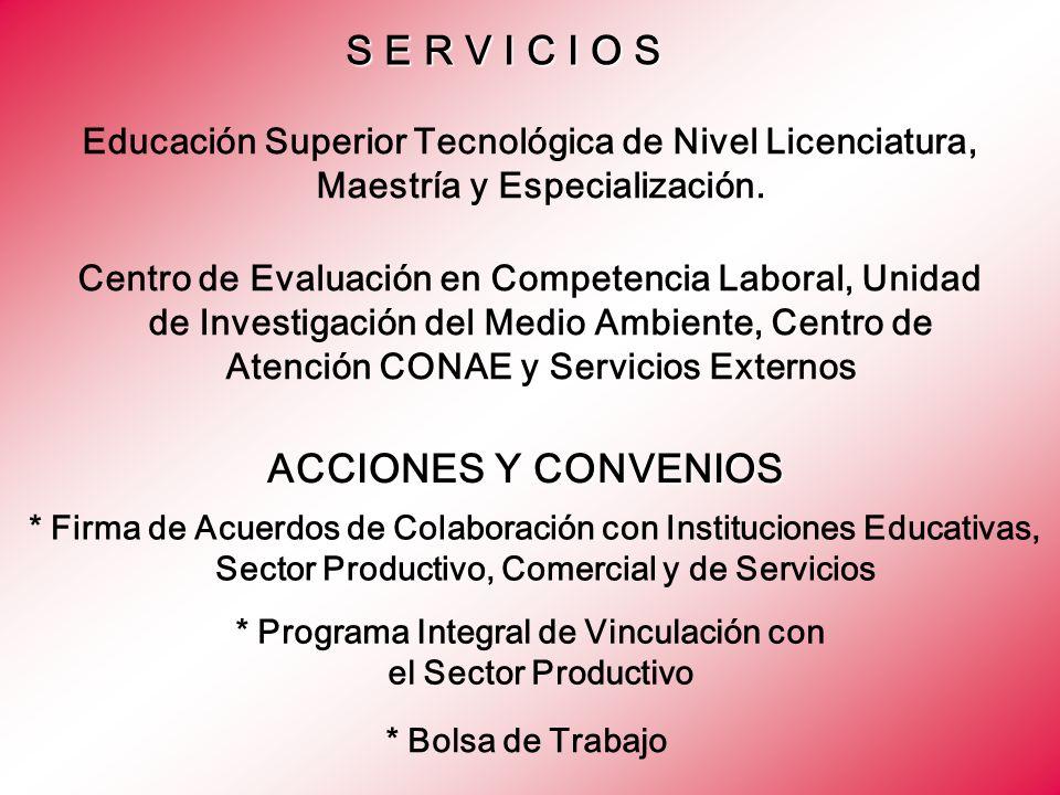 * Programa Integral de Vinculación con el Sector Productivo