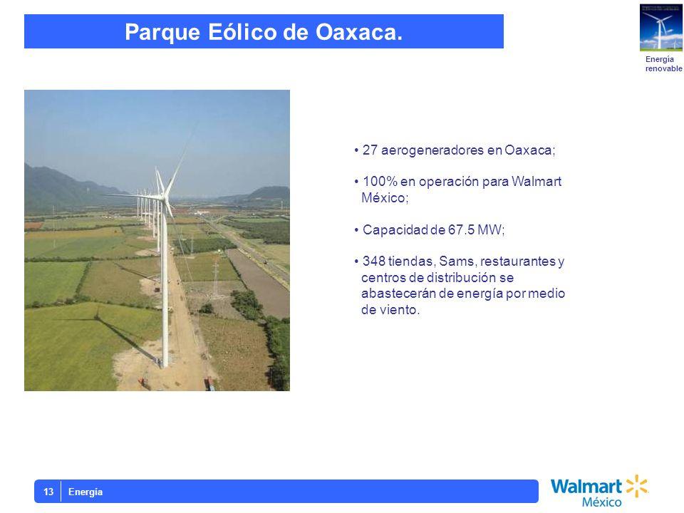 Parque Eólico de Oaxaca.
