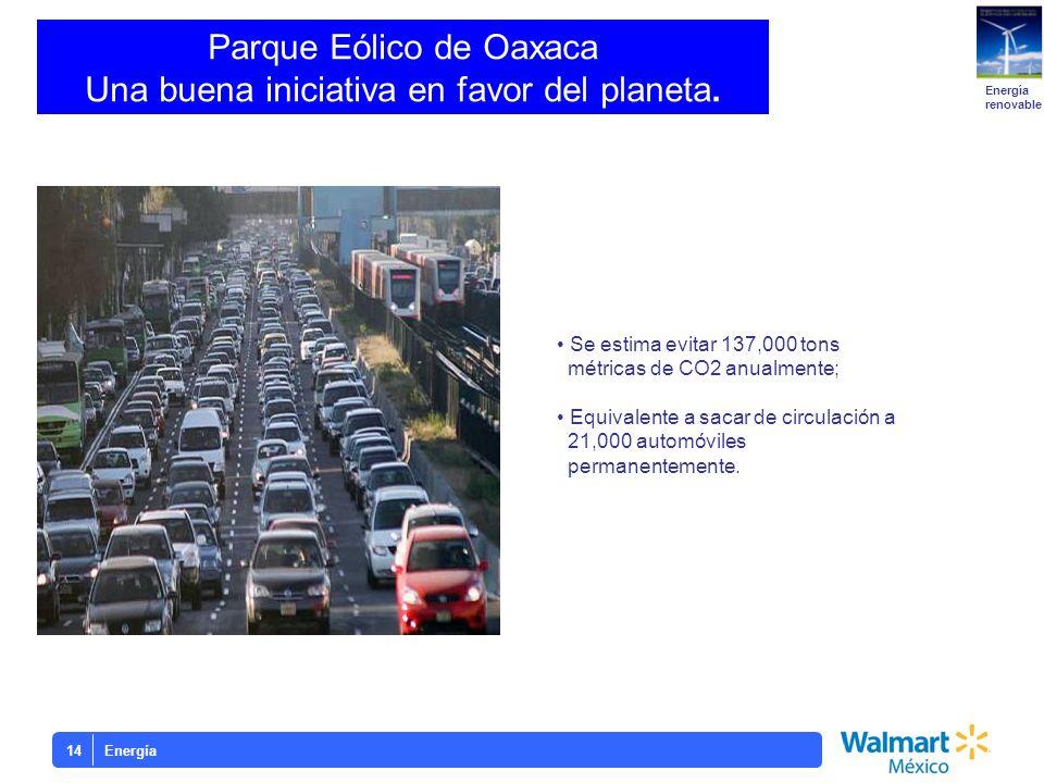 Parque Eólico de Oaxaca Una buena iniciativa en favor del planeta.