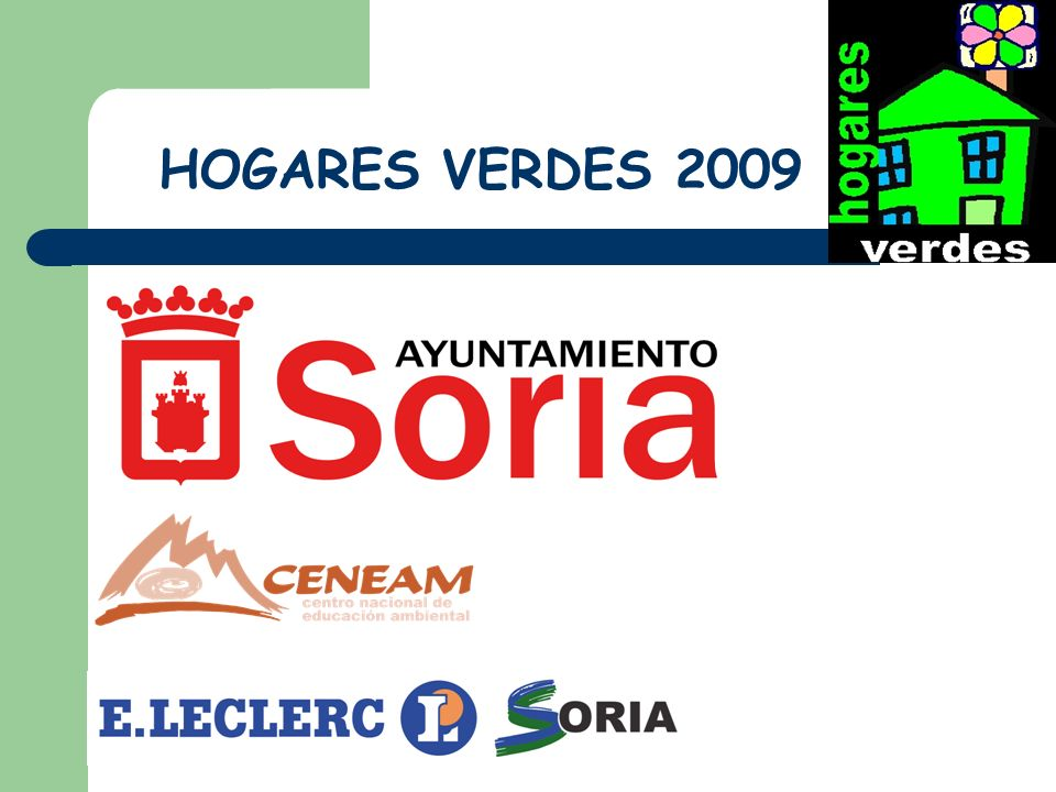 HOGARES VERDES 2009