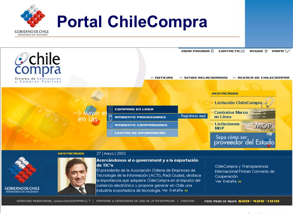 Portal ChileCompra