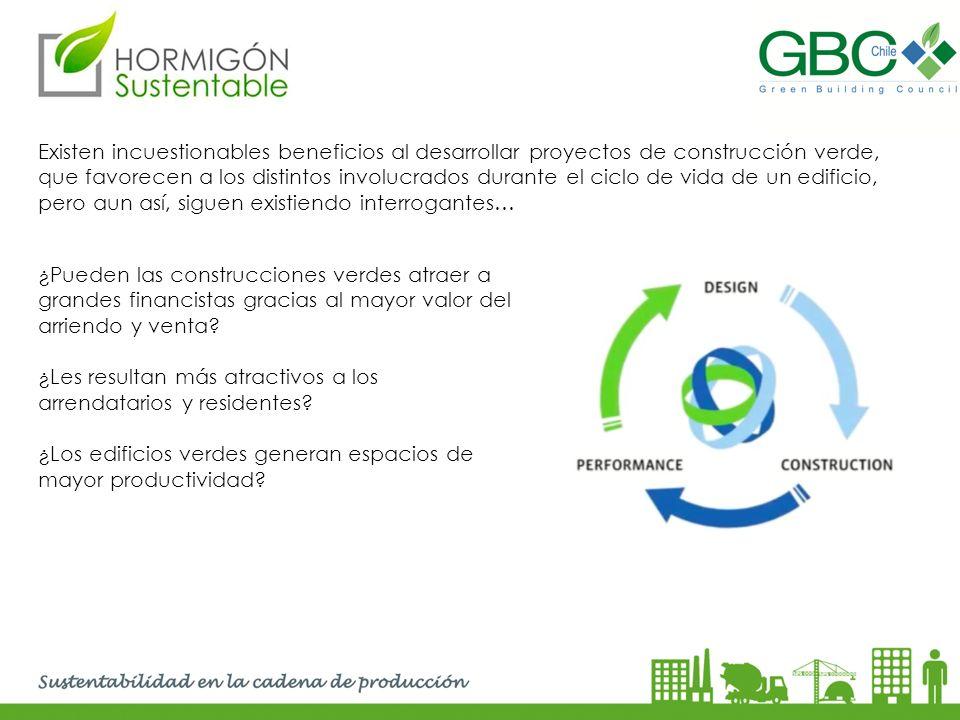 Existen incuestionables beneficios al desarrollar proyectos de construcción verde, que favorecen a los distintos involucrados durante el ciclo de vida de un edificio, pero aun así, siguen existiendo interrogantes…