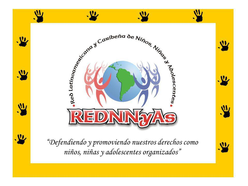Defendiendo y promoviendo nuestros derechos como niños, niñas y adolescentes organizados