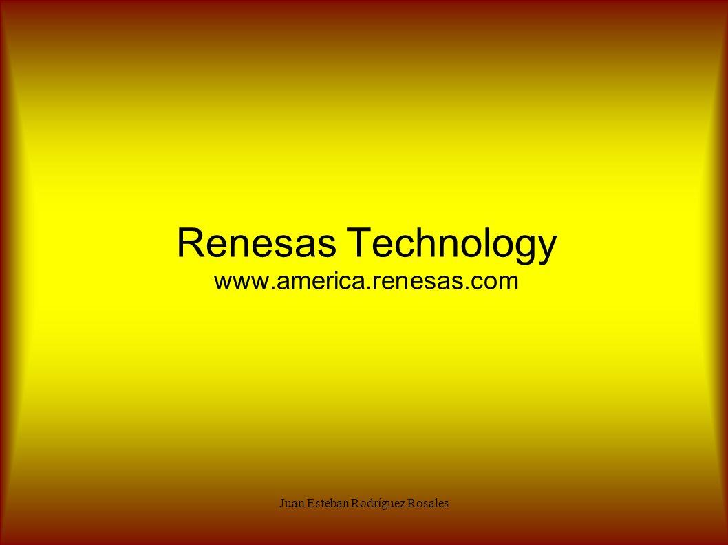 Renesas Technology www.america.renesas.com