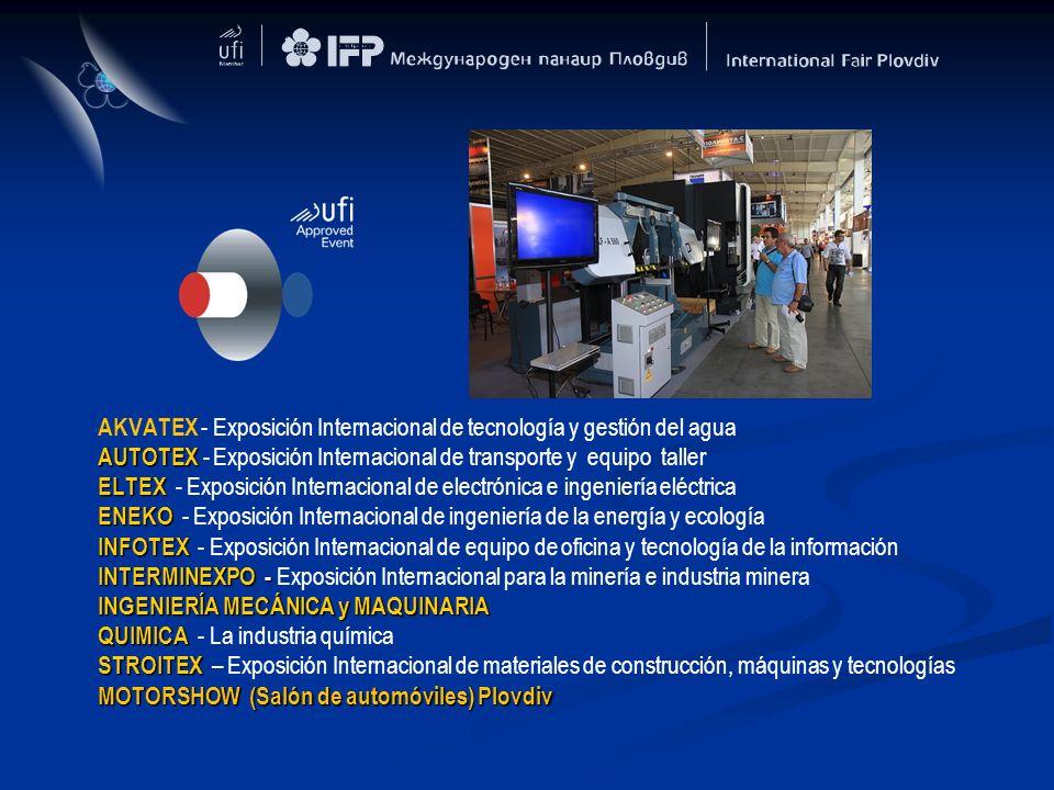AKVATEX - Exposición Internacional de tecnología y gestión del agua