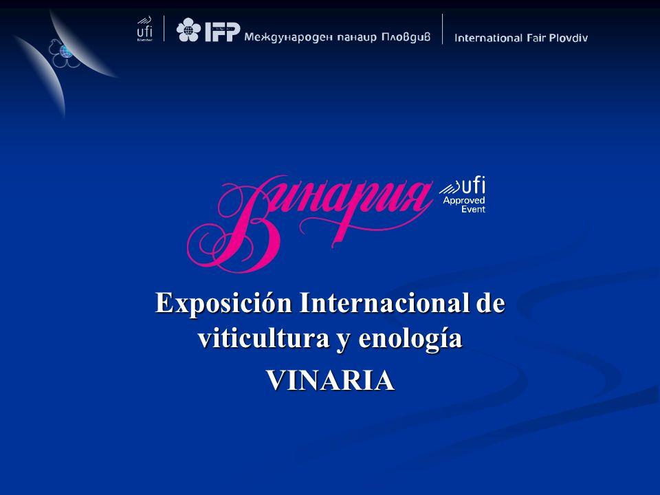 Exposición Internacional de viticultura y enología VINARIA