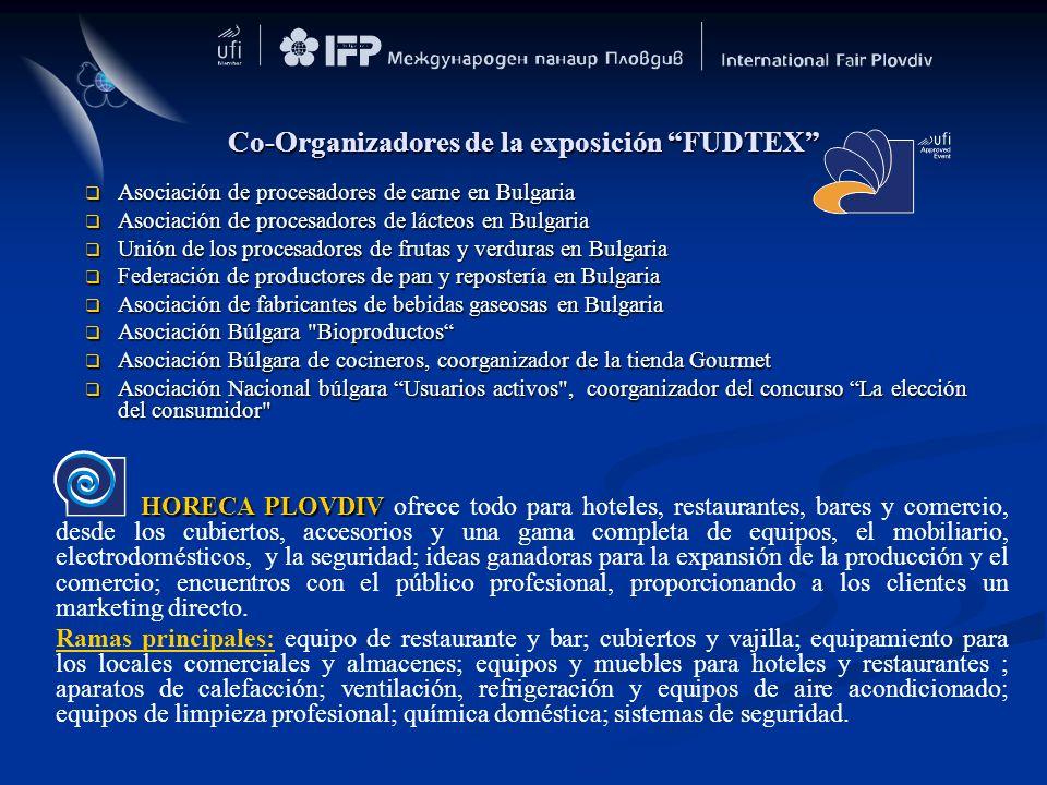 Co-Organizadores de la exposición FUDTEX